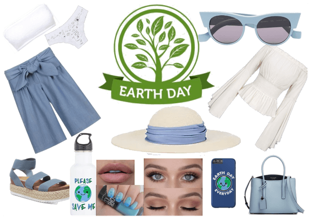 Casual Blue - Earth Day