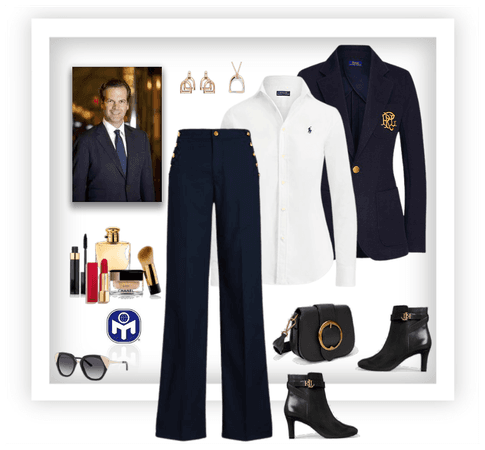 Hot guy inspired business outfit