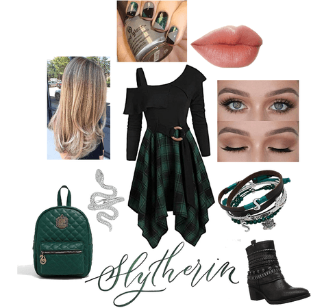 Modern Slytherin Girl