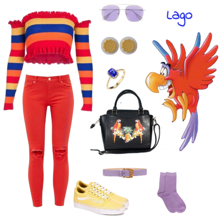 Lago outfit - Disneybounding