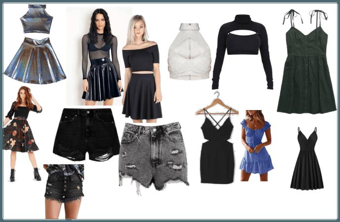 Lyrica's clothes