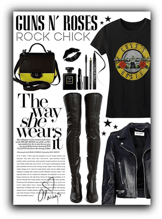 Guns N Roses Rock Chick