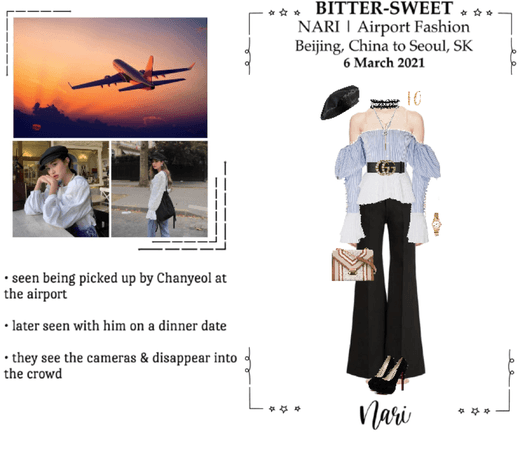 BITTER-SWEET [비터스윗] (NARI) Airport Fashion 210306