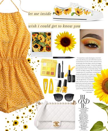 sunflower-spring florals🌻🌻