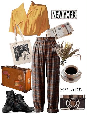 Vintage traveller