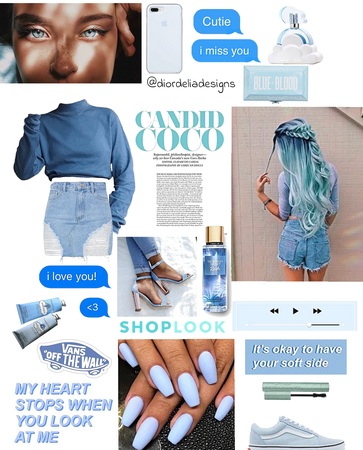 my style blue