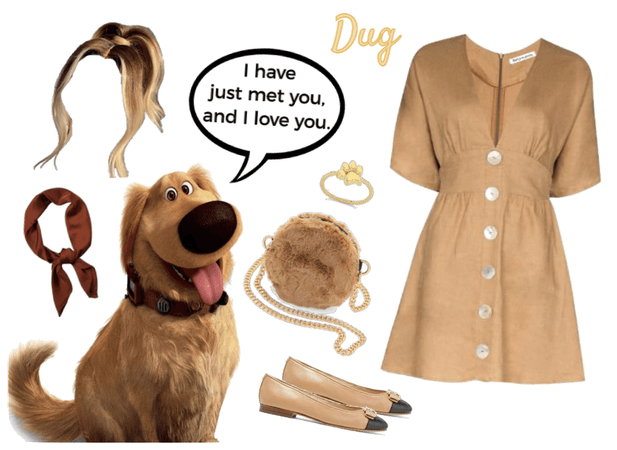 Dug outfit - Disneybounding