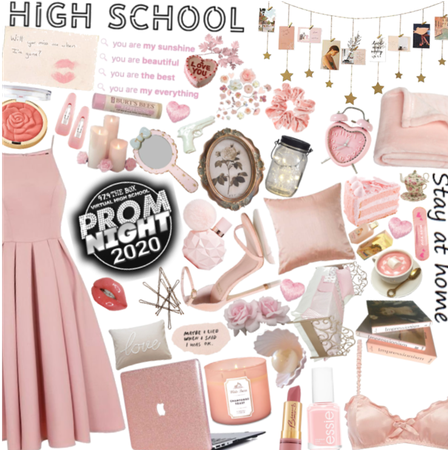 Pink prom