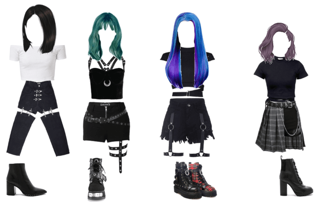 kpop idol inspired outfit