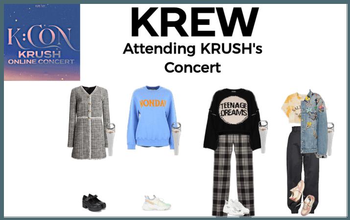 KREW Attending KRUSH's Concert