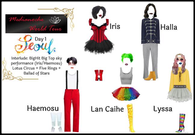 Medianoche World Tour | Seoul Day 1 Cirque