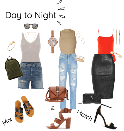 Day to Night- Body Suits