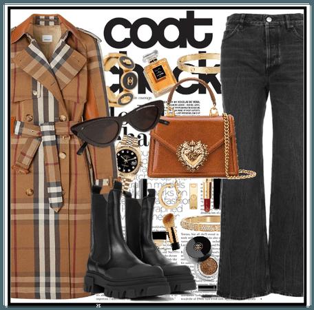 Coat check : Burberry
