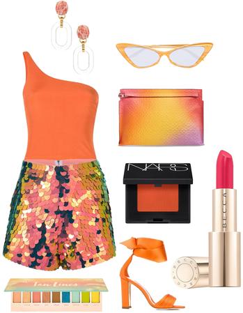 Orange Popsicle Summer Look
