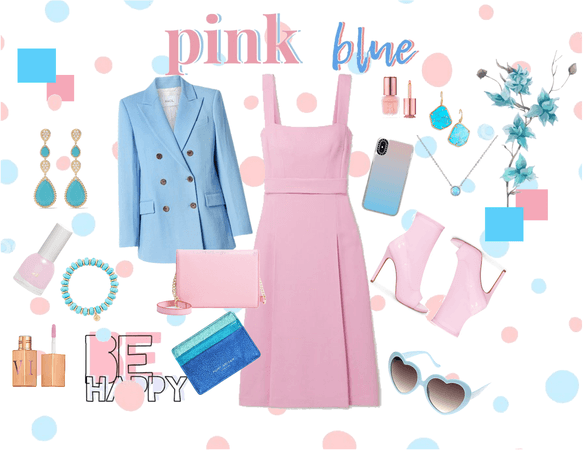 baby pink baby blue