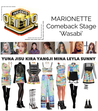 {MARIONETTE} Inkigayo Comeback Stage