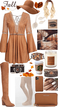 Autumn photography outfit
