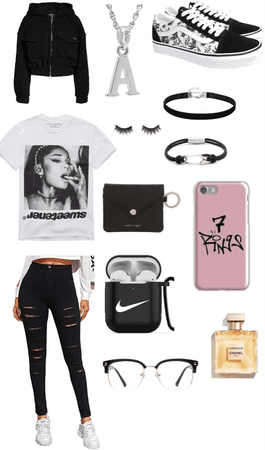 Ariana concert outfit