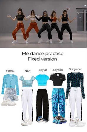 Me Dance Practice S.U.N