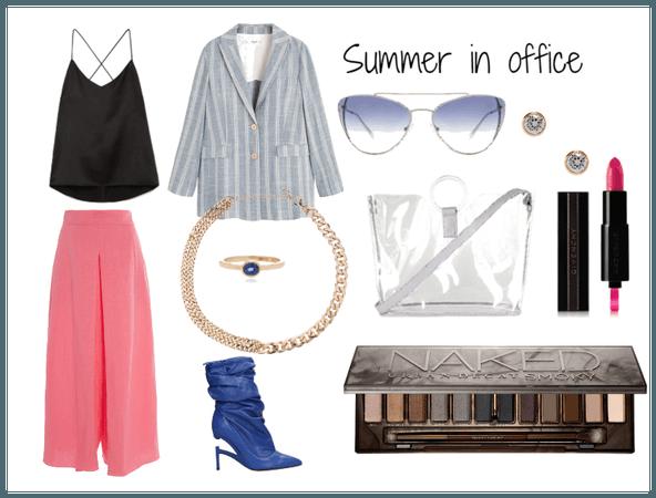 Summer in office