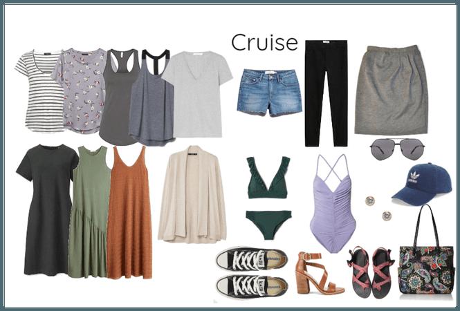 Minimalist Packing List - Cruise