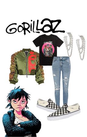 Music Lover/Gorillaz Fan