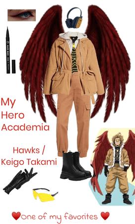 Keigo Takami/Hawks outfit