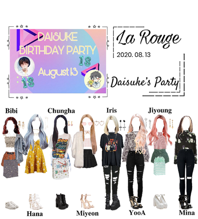 La Rouge at Daisuke's Party 2020. 08. 13