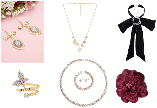 Romantic Style Fashion - Jewelry and Accessories