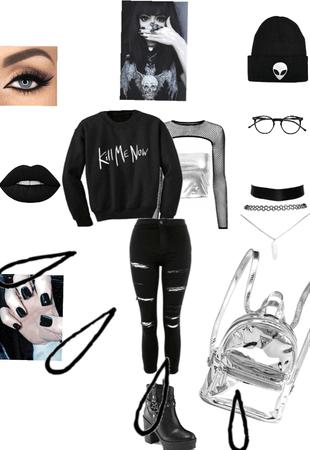 Gray/Holo-Goth