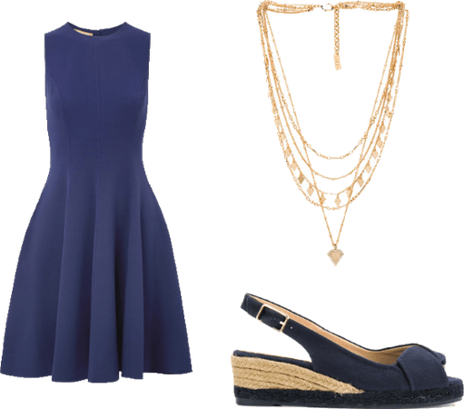 Date Night in Blue