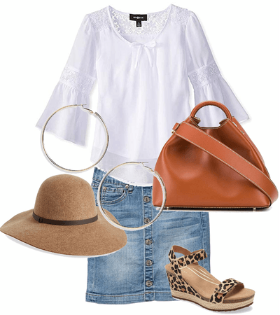 Nice and simple summer outfit for the city