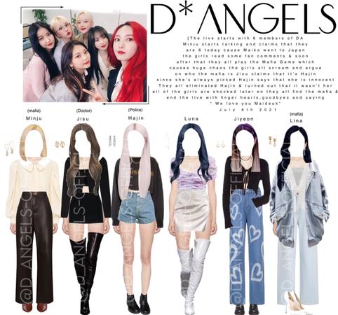 D*Angels(다크 엔젤)Vlive
