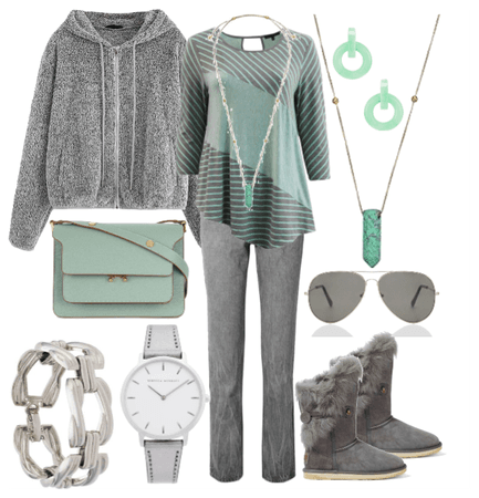 Casual Mint Stripe