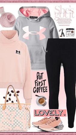 Sweats and Coffee!