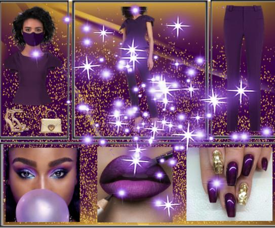 Perfectly Plum Purple Presentation
