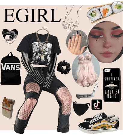 E girl