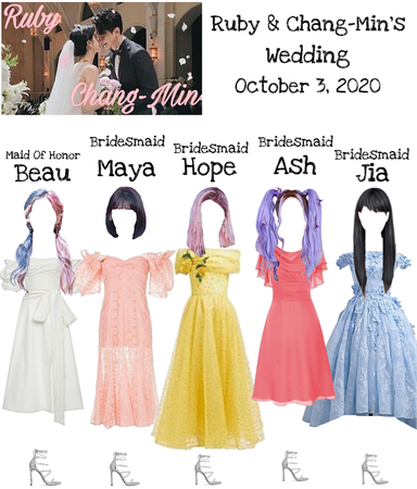 Ruby & Chang-Min Wedding DI-VERSE & Jia