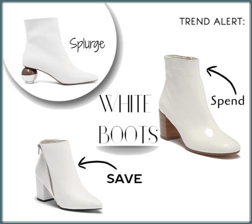 Trend Alert: White Boots