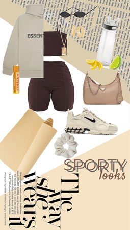 sporty looks