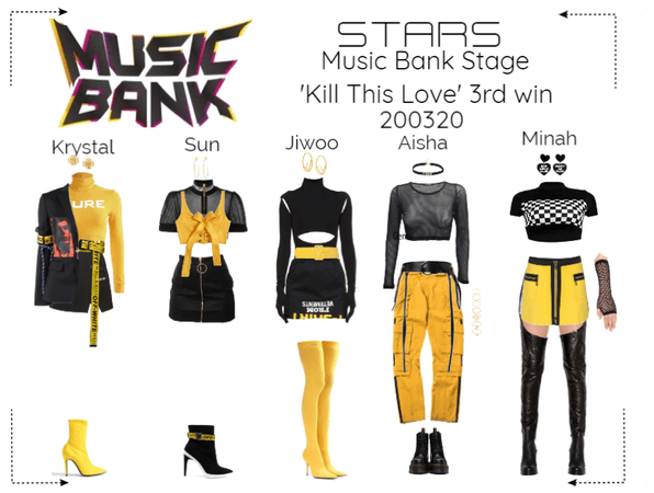 STARS   Music Bank Stage   Kill This Love 3rd win