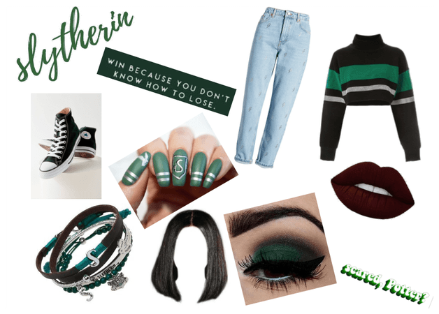 Modern Hogwarts Houses 3: Slytherin - Out of Class