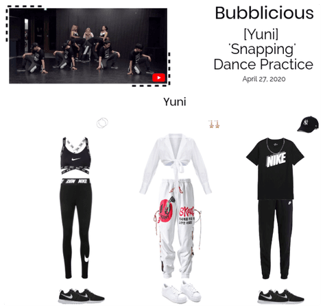 Bubblicious (신기한) [YUNI] 'Snapping' Dance Practice