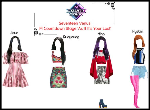 Seventeen Venus M Countdown Stage