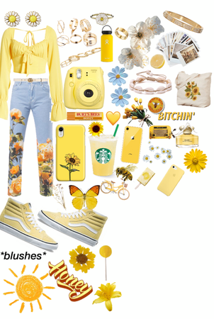 so much yellow but I loveeeee it🤩💛