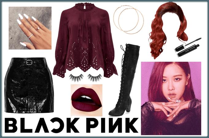 Blackpink Rose outfit