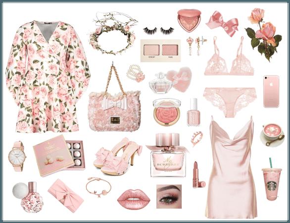 rose and blush princess
