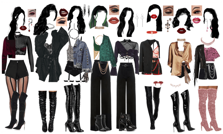 Fake Love BTS Outfits