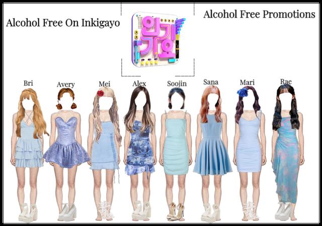 체리 팝 (Cherrypop) Performs Alcohol Free On Inkigayo