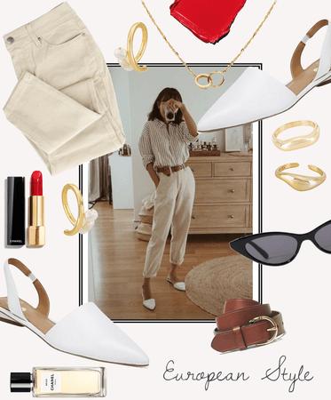 European Style - Paris Inspired
